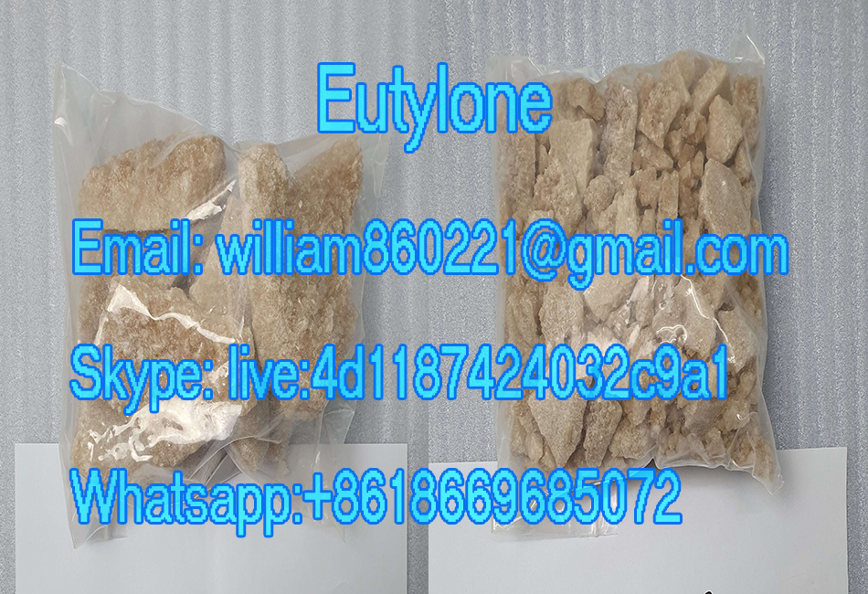 99.9% Purity Eutylone Research Chemical Stimulant crtsyal yellow eu