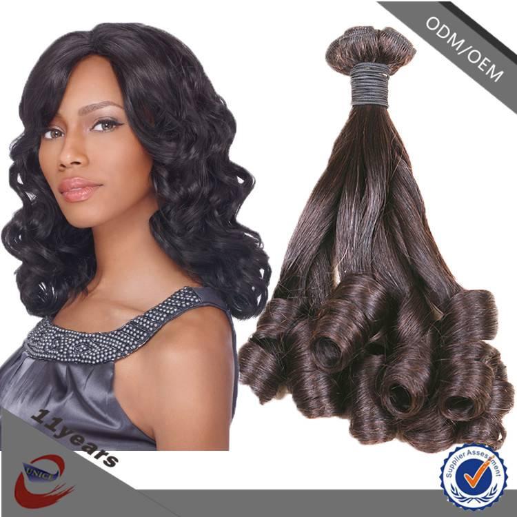 2015 Top Selling Funmi Hair , Indian Virgin Hair Aunty Funmi Hair Weave for Wholesale