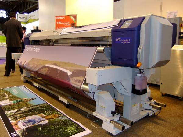 Mutoh ValueJet 1638 Eco Solvent Printer 64 inch