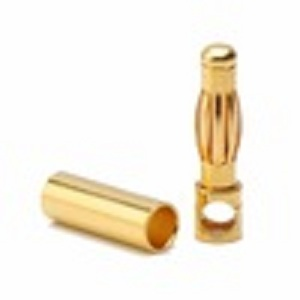 4.0mm gold sockets , high current socket,LED connector