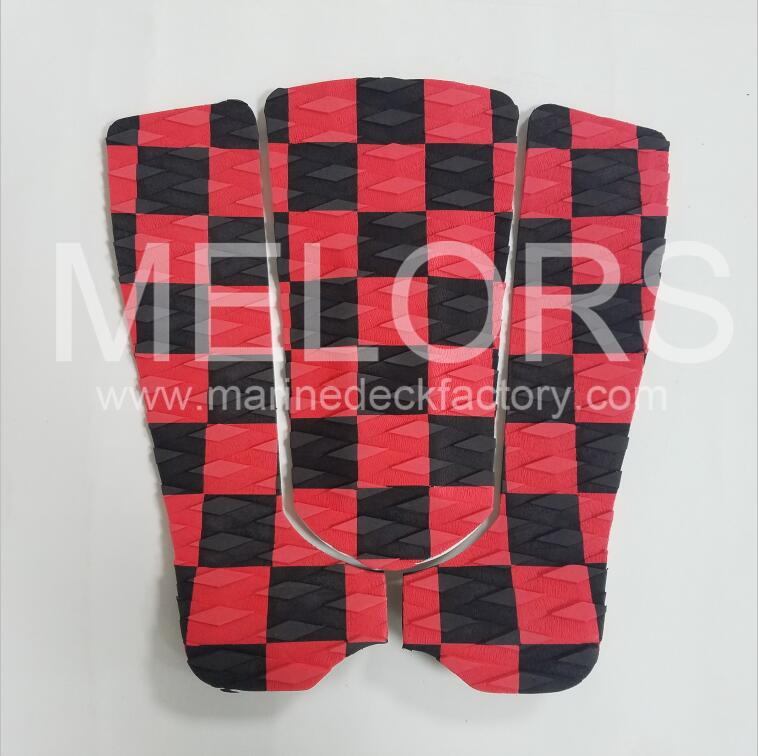 Melors Customized Design EVA Foam Surf Traction Pad
