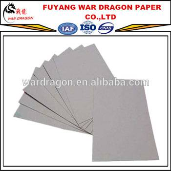 Compectitive price white coated Duplex Board with grey back