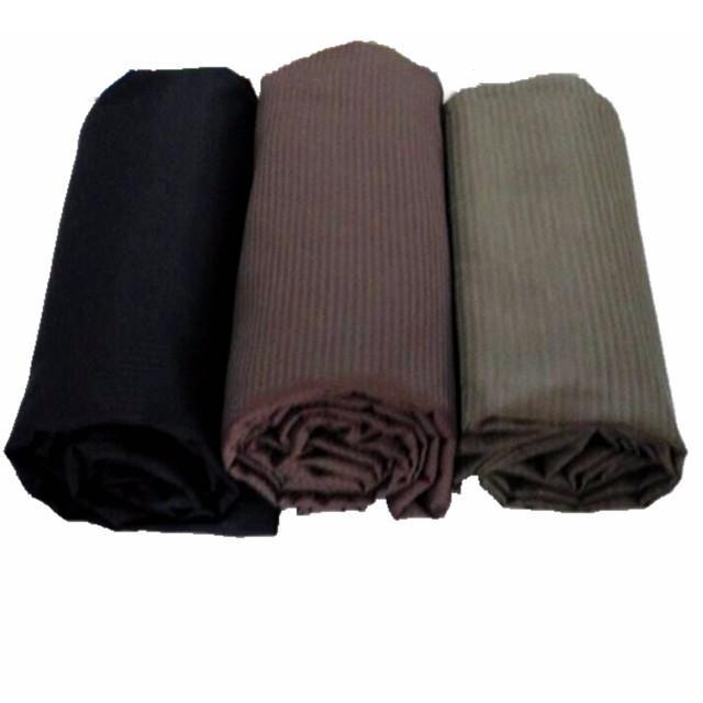 Herringbone Pants Pocket Lining Fabric Dyed Polyester Cotton Fabric