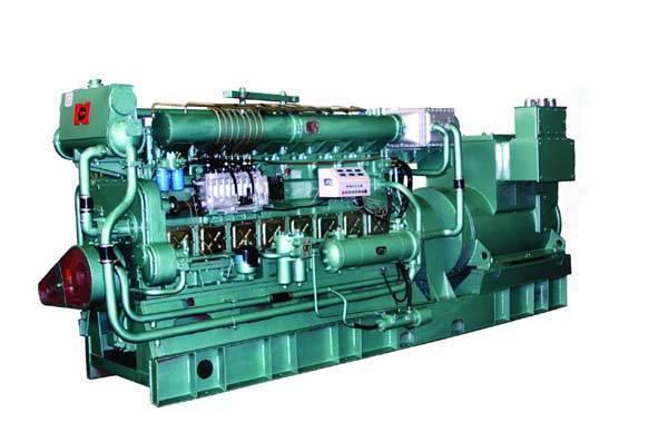 N160 marine diesel Genset