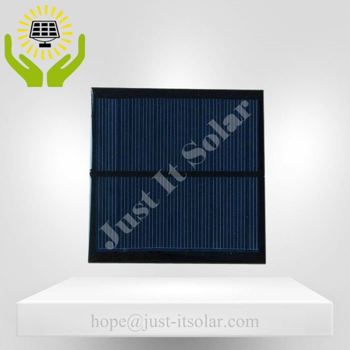 6V 150mA 0.9W Epoxy Resin Mini Solar Panel