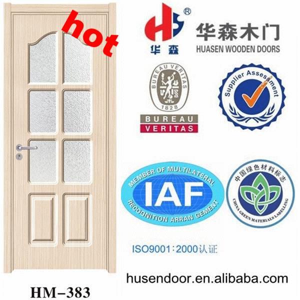 wooden door manufacturer cheap interior pvc doors