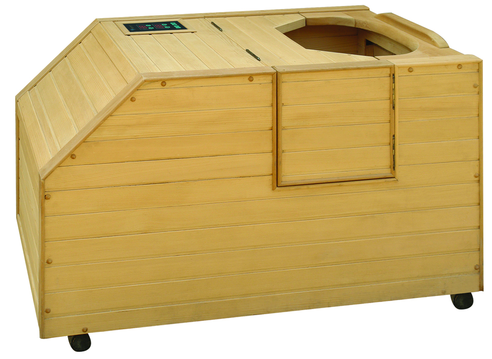 one person Mini portable small half body sauna room