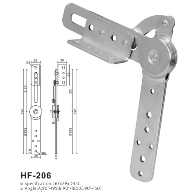 Furniture Hardware Fitting Sofa Hinge HF206
