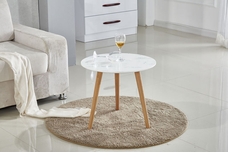 MDF Top Round Coffee Side Table