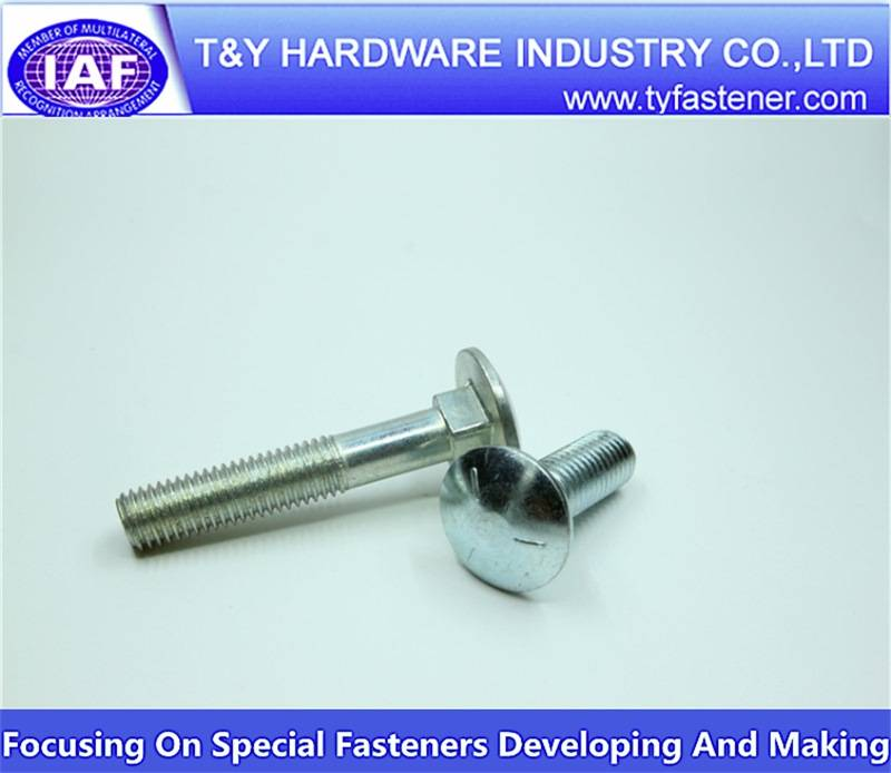 carriage bolts with square neck metric din 603