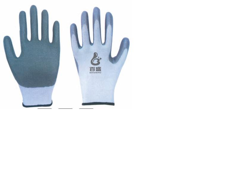 13G polyester glove with Nitrile foam