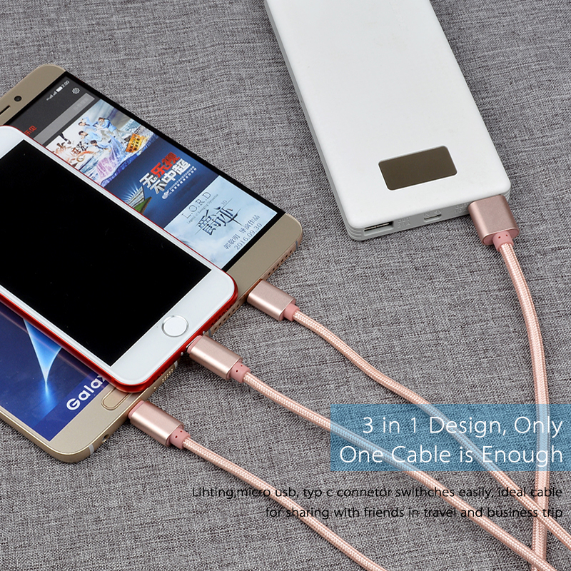 New products on china market For iphone 7 usb cable