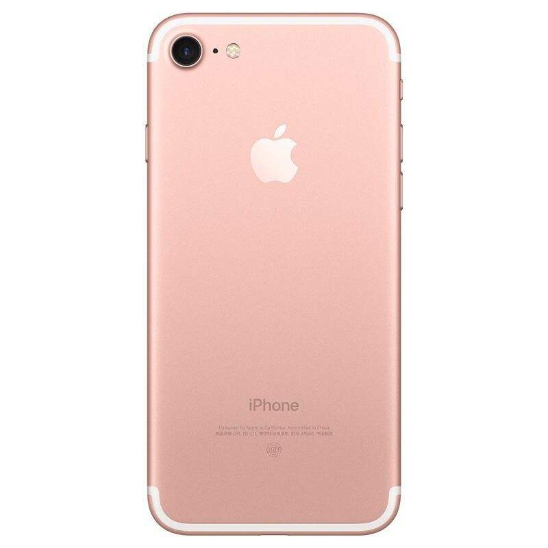 Original color/Genuine housing for iphone 7 plus battery cove replacement gold rose