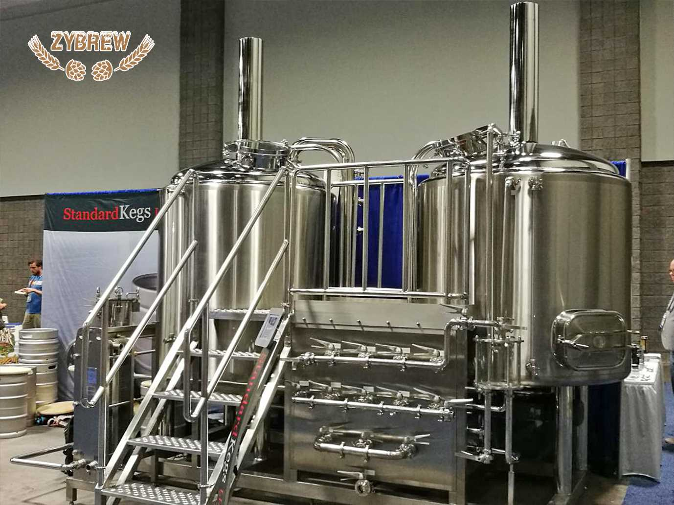 10BBL brewhouse for micro brewery in stock