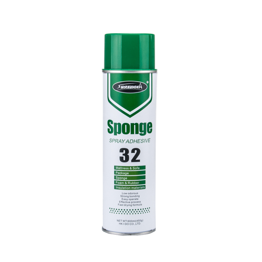 Sponge spray adhesive for mattress and sofa