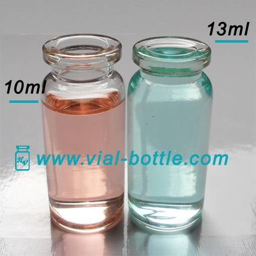 10ml Clear Molded Steroids Injection Vials for Pharmaceutical Use