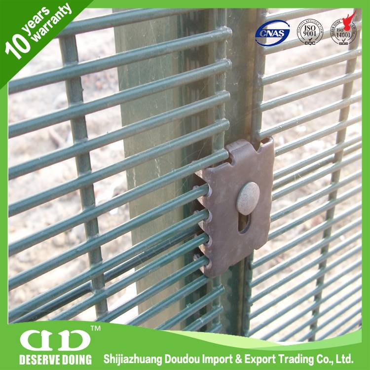 China manufacturer 358 high security fence, anti cut