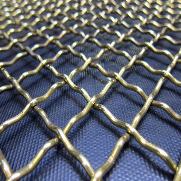 Stainless Steel Crimped Weave Mesh