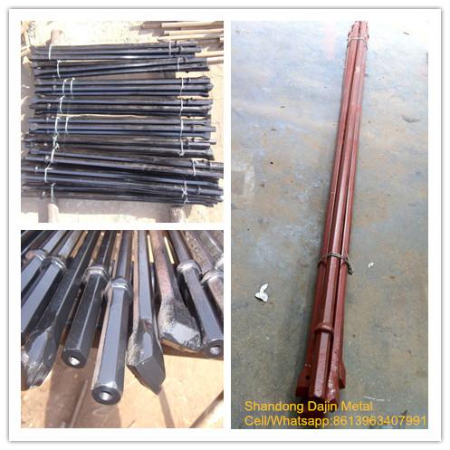 Shank drill rod/B22 drill rods