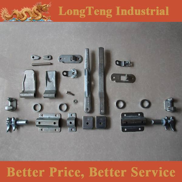 container door locking parts