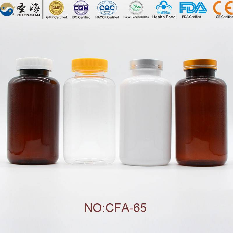 750ml Factory Direct Sale Plastic Bottle for Medicine
