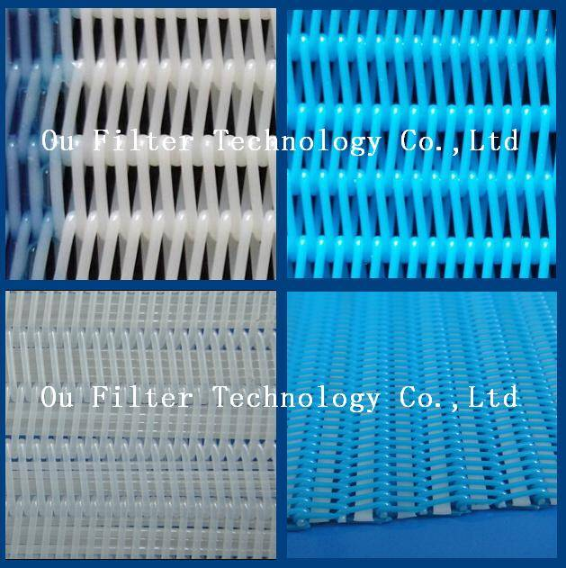 Polyester Spiral fabric for Solids Dewatering, Wastewater Treatment