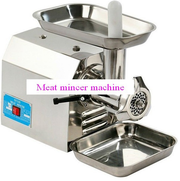 automatic electric stainless steel meat mincer  0086 13938488237