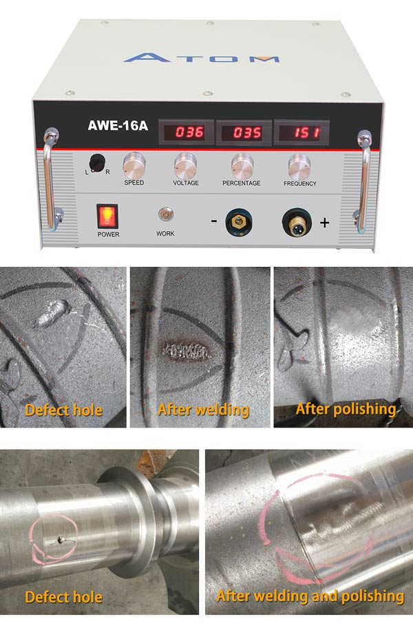 Casting defect welding machine, blow hole welding machine, sand hole welding machine, cold welding