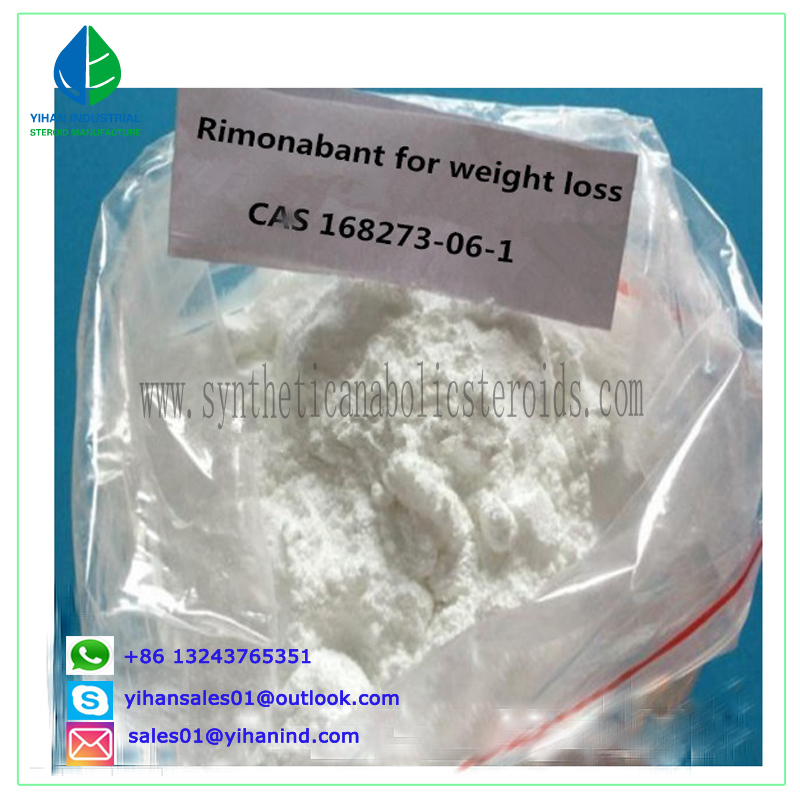 China Factory Supplies 99% Pure Rimonabant Powder for Weight-Loss 168273-06-1 Judy