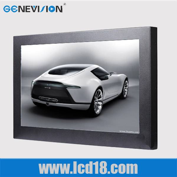 15 inch wall mounted lcd advertising player