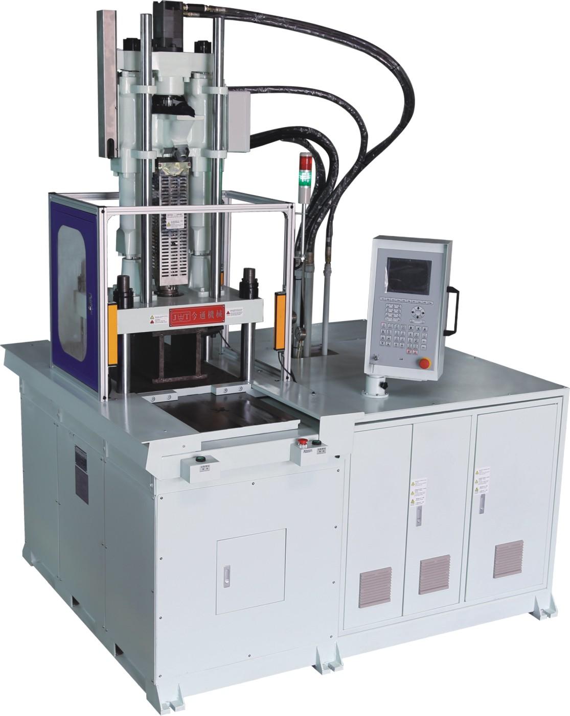 vertical injection double sliding plastic molding machine JTT-850DM
