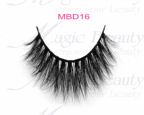 Private Label Popular Siberian Lashes 3D Mink Lashes Mbd16 Black and Invisible Band are available