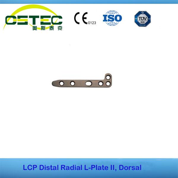 LCP Distal Radial L-Plate II, Dorsal