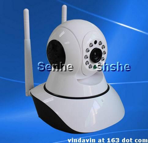 Dual antenna IP Camera P2P wifi burglar alarm monitoring HD Onvif 2.0 protocol