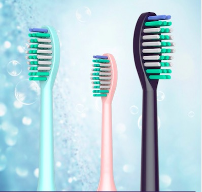Electric toothbrush head