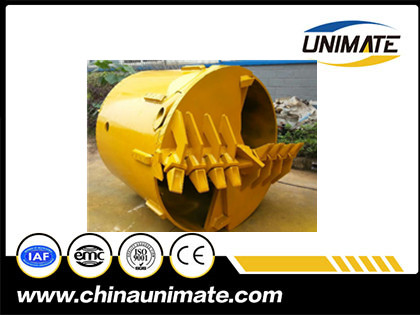 Double-cut rock drilling bucket wholesale