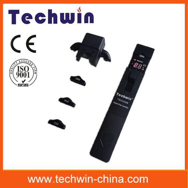Techwin mini handheld fiber identifier TW3306E cable tester