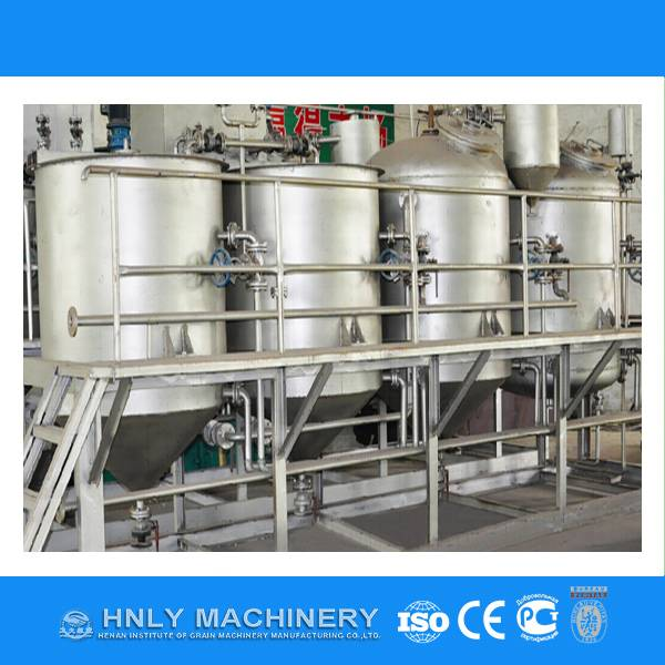 Turnkey project palm oil processing machine
