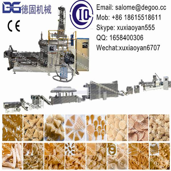 Fried 2d&3d Snack Pellet Fryums Papad Extruder Machine Production Line