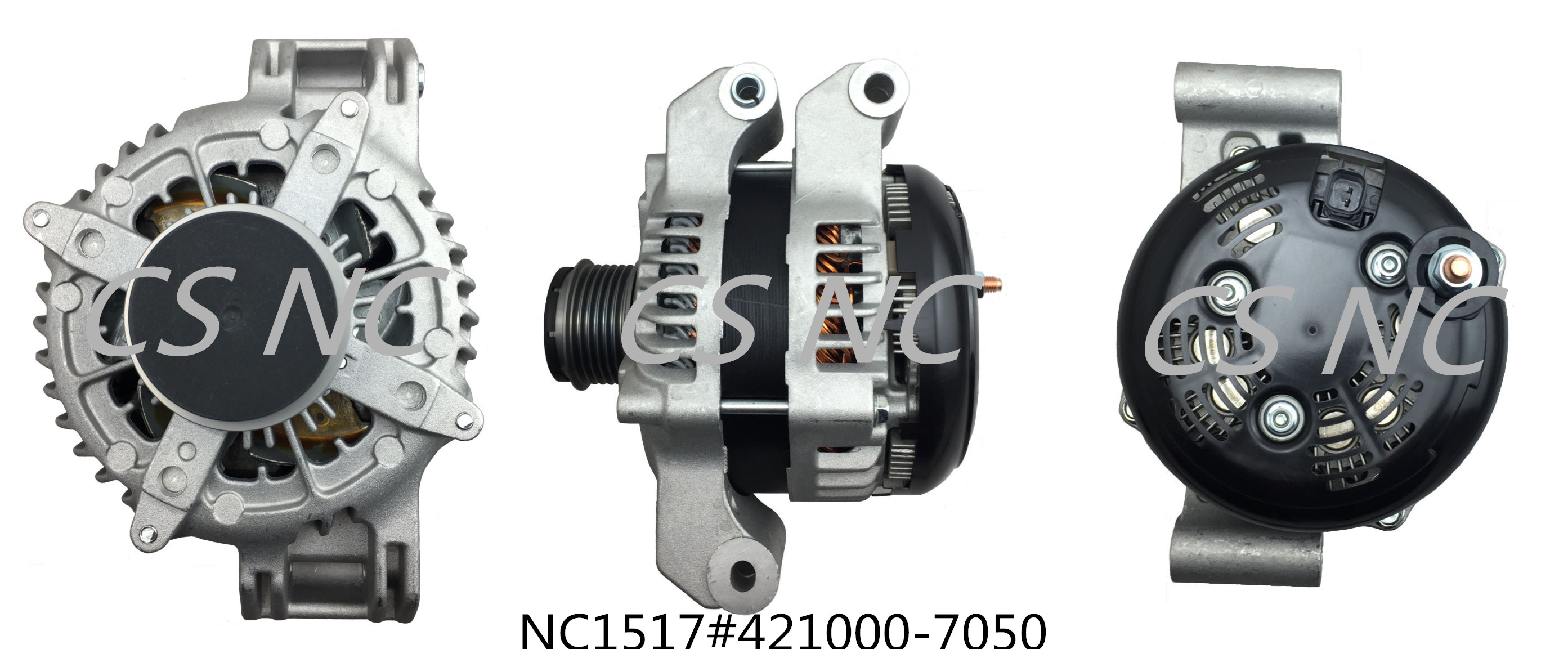 Denso Alternator NC1517 (12V 220A, 421000-7050)