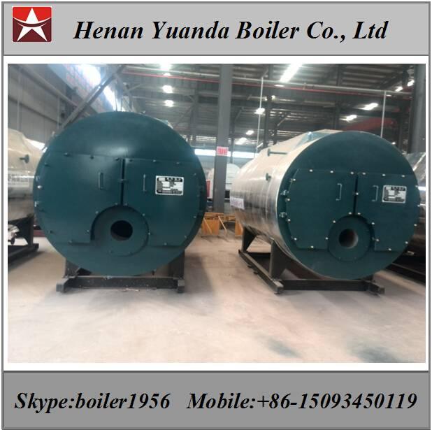 2 ton Oil fired steam boiler