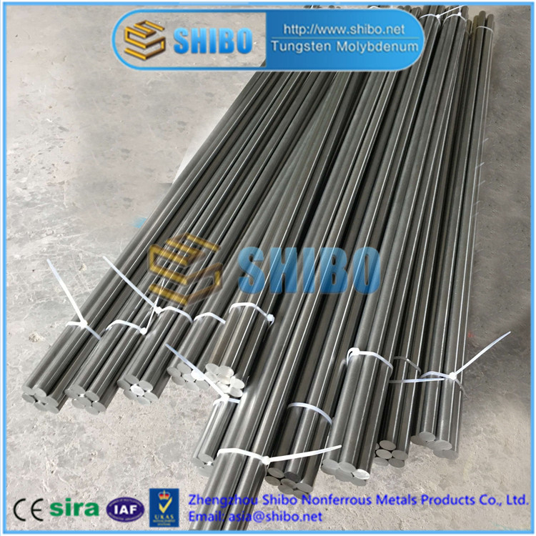 Factory Direct Supply Purity 99.95% Polished Mo Round Bar, Molybdenum Bar