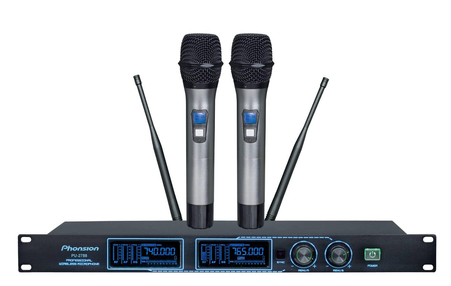 PU-2788 UHF Wireless Microphone