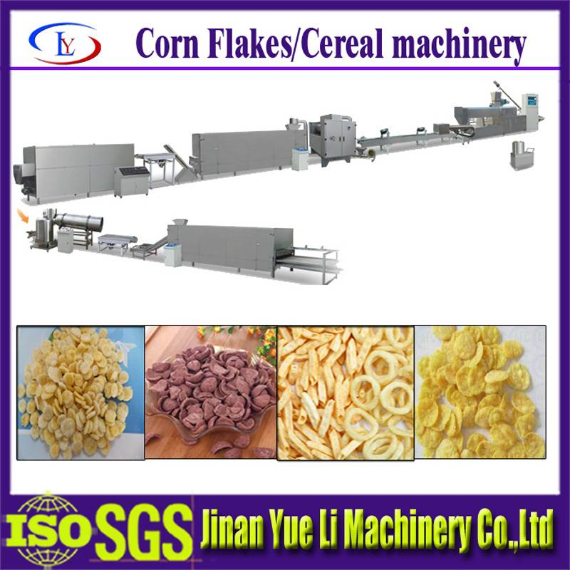 Full Automatic Breakfast Cereal/Corn Flakes Production Line/food machine