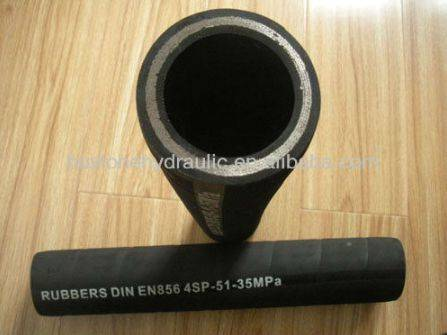 high quality SAE 100 R16 industrial hydraulic rubber hose