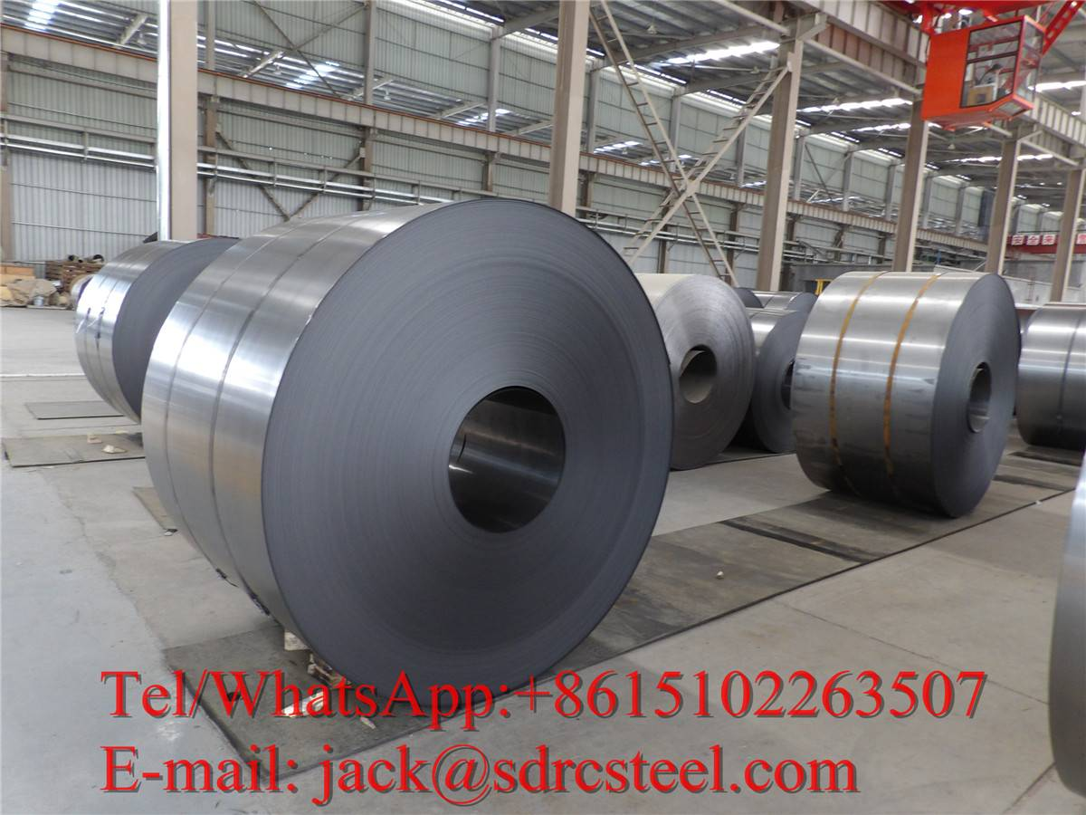 SPCD DC02 Cold Rolled Steel Coil