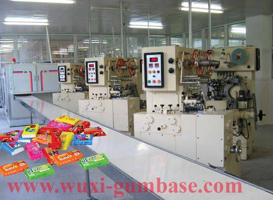 Bubble gum processing equiipment