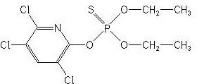 Chlorpyrifos,CAS No:2921-88-2