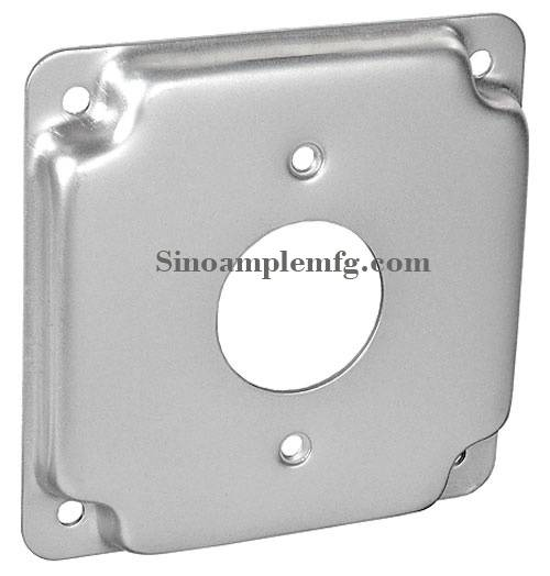 """Raised, Single Receptacle, 1.406"""" Industrial Surface Cover (SCV-20870)"""