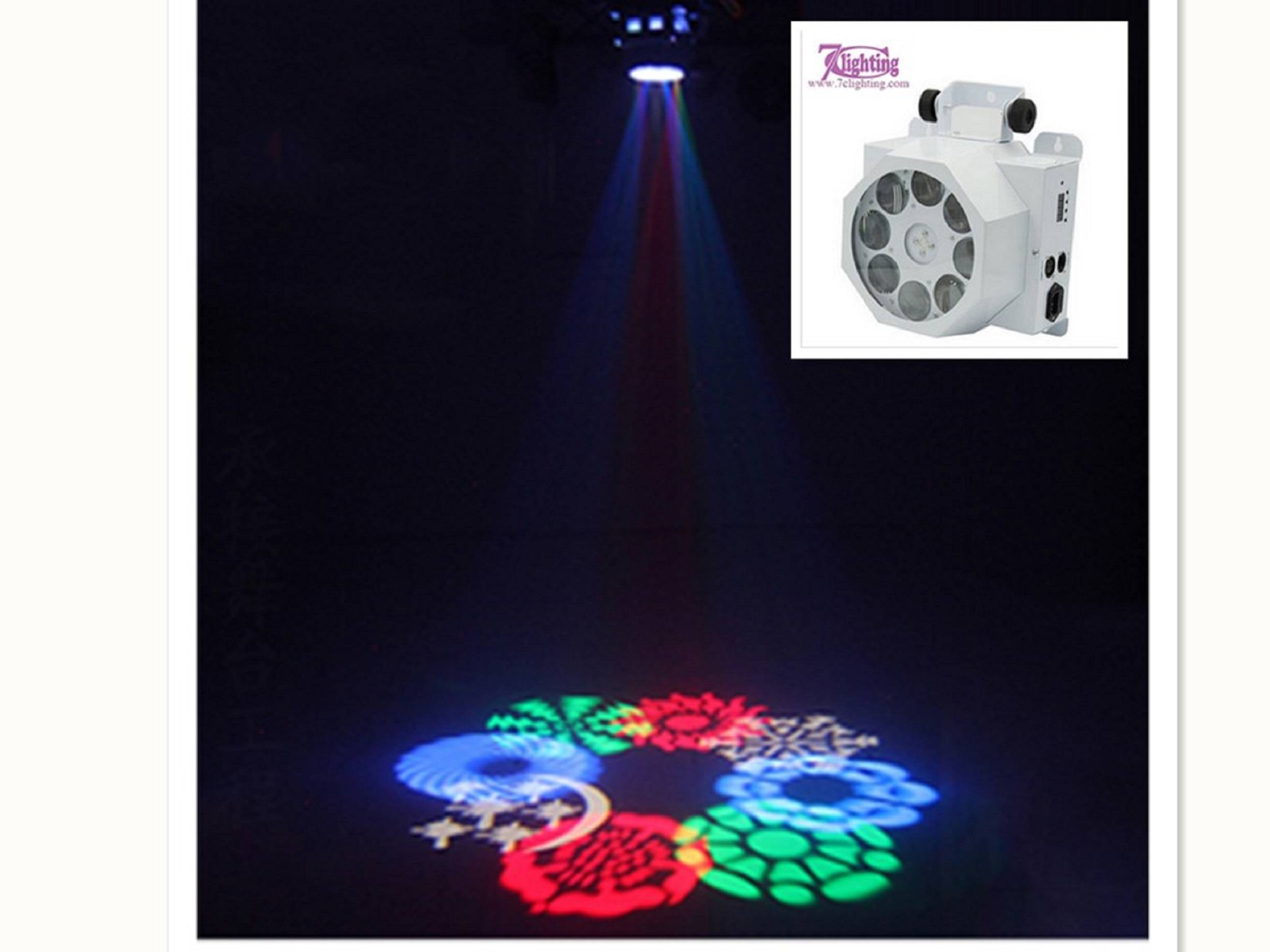 7c-DL07  New Multi Pattern Disco Light